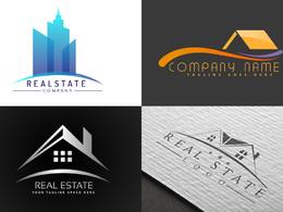 Design amazing creative realestate logo professionally