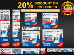 Design  Google Adwords Web Banner Ads Within 24h (6 Ads set)