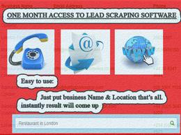 Email Database Generating Application