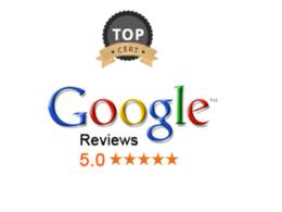 "Write  PERMANENT ""5 star"" Google Review UK verified account"
