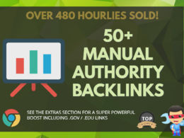 Boost your Google Rankings with 50+ PR10 Authority Backlinks