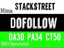 Publish A Dofollow Guest Post On Stackstreet
