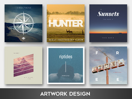 Create a stunning CD/Album/LP/EP cover artwork design with unlimited revisions