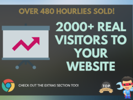 2000 REAL Social Visitors for for SEO ranking, website traffic