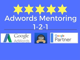 Personal Google Adwords Mentoring Coaching 1-2-1
