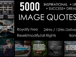 Send you 5000 business / inspirational quotes