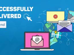 Design your email newsletter & send via Mailchimp