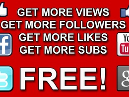 200+ real youtube subscribers or 3000 real youtube views or 1000 likes