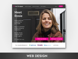 Create a stunning hero/header/banner image design for your website/landing page