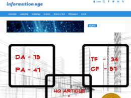 Write and Publish an Article on information-age.com with Do-Follow Link
