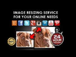 Resize pixels & file size of 100 photos without loosing quality