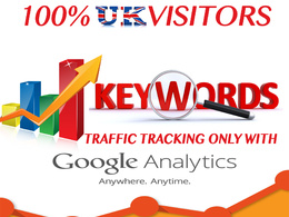 Send Daily UK KEYWORD Organic TRAFFIC TARGETED For 1 Month