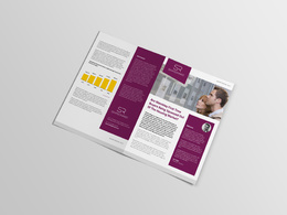 Design your company brochure / PDF / interactive PDF / ePub