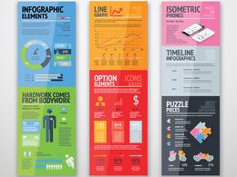 Create a professional unique infographic