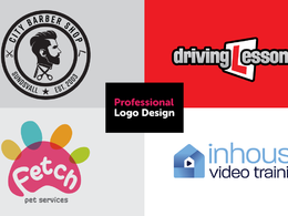 DESIGN YOUR PROFESSIONAL LOGO with added extras
