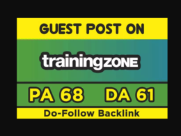 Publish Guest Post On Trainingzone DA58