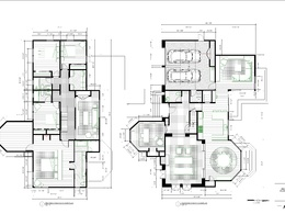 Create floor plan from hand sketches and scanned images