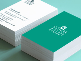 Design, Print and Deliver 250 Matt Laminated business cards