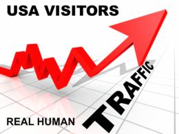 USA Keyword Targeted Organic Traffic From Google