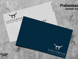 Create one magnificent business card.