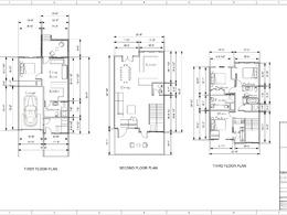Draw a floor plan in Vectorworks