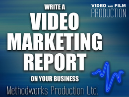 Write video marketing report on your business