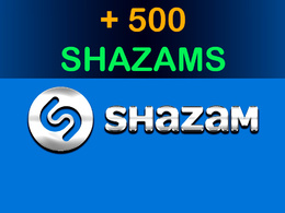 Shazam your song 500 times
