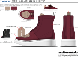 Design computer render 1 women's footwear