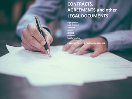 Draft a Contract, Agreement or another Legal Document in 3 days