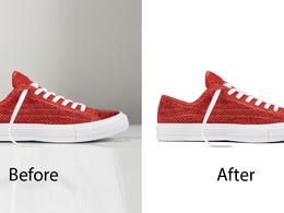 Do 15 images cutout or remove background with drop shadow for ecommerce