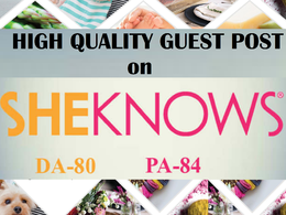 Publish a Guest Post on Sheknows.com (DA- 80)