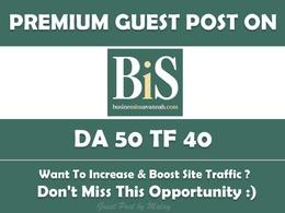 Write & Publish Guest Post on Businessinsavannah.com - DA 50