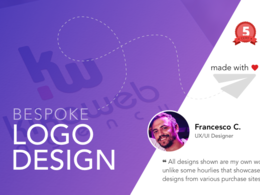 Bespoke business Logo Design + Unlimited Revisions + Favicon