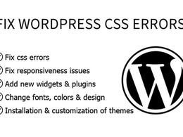 Fix WORDPRESS css errors