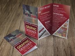 Design a professional portrait Brochure A4/A5
