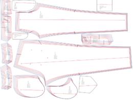 Convert your fashion garment patterns to printable PDF