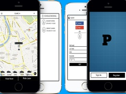 Design and develop Uber style Taxi Booking App