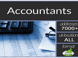 Make you 7000 plus UK ACCOUNTANTS Contact/Email database