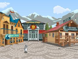 Draw 2d Vector Cartoon Backgrounds