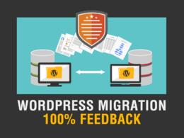 Transfer / Move / Migrate Wordpress