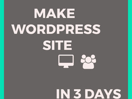 Do all changes to Wordpress site
