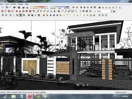 Make a BASIC 3d model in sketchup