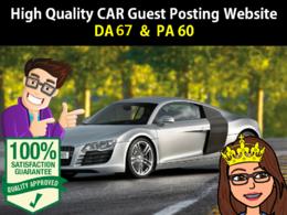 Guest Post in CAR Website Dofollow Link ( DA 67   PA 60)