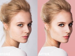 Retouch/edit 5 photos
