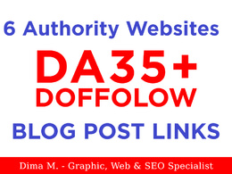 Provide Elite Guest Posting Package on 6 Authority Websites