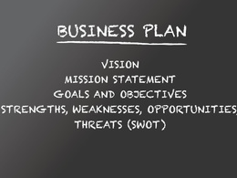 Build a powerful business plan