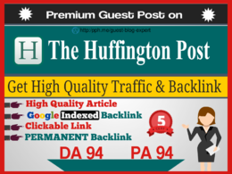 Guest Post on Huffington Post, HuffingtonPost.com Google Indexed