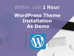 Install any WordPress Theme just like Demo