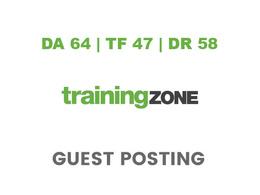 Publish a guest post on TrainingZone - DA64, TF47, DR58