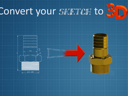 Convert your old 2D CAD drawings to 3D